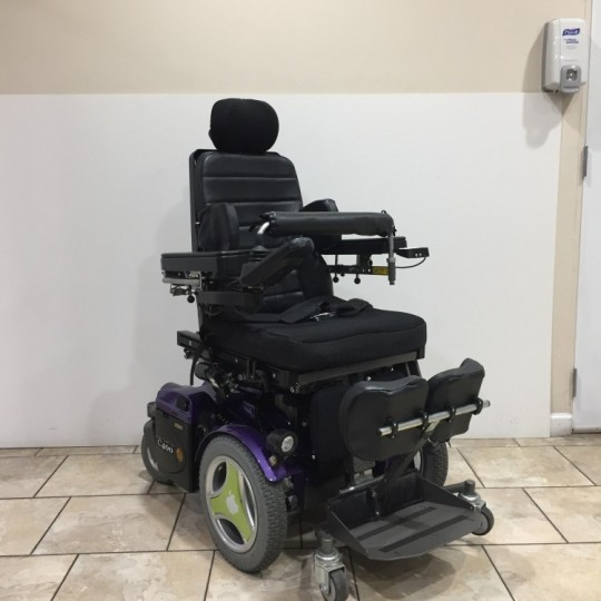 Manufacturer Demo Permobil C400 VS Rehab Stander Power Chair