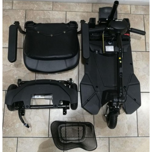 Disassembled Parts of Drive Bobcat X3 Mobility Scooter