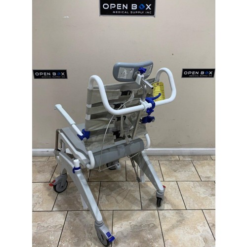 Back view of Invacare Aquatec Ocean VIP and Soft Seat