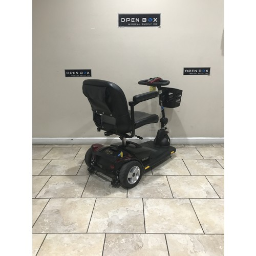 Back view of Pride Go-Go Elite Traveller HD 3-Wheel Scooter