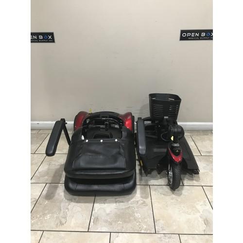 Disassembled Parts of Pride Go-Go Elite Traveller HD 3-Wheel Scooter