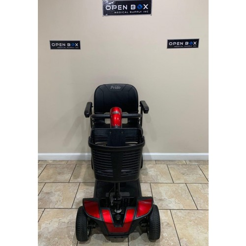 Front view of Pride Go-Go Sport 4 Wheel Mobility Scooter