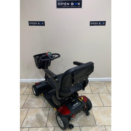 Back view of Pride Go-Go Sport 4 Wheel Mobility Scooter
