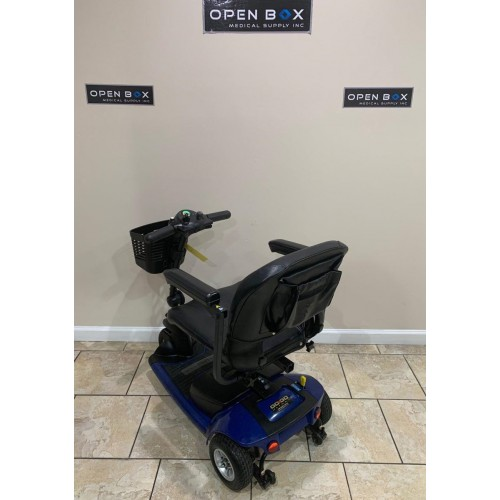Back view of Pride Go-Go Ultra X 3 Wheel Mobility Scooter