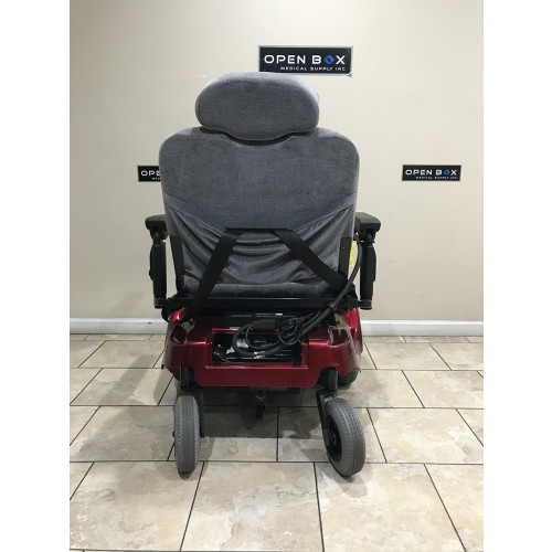 Back view of Pride Jazzy 1170 XL Plus Power Wheelchair