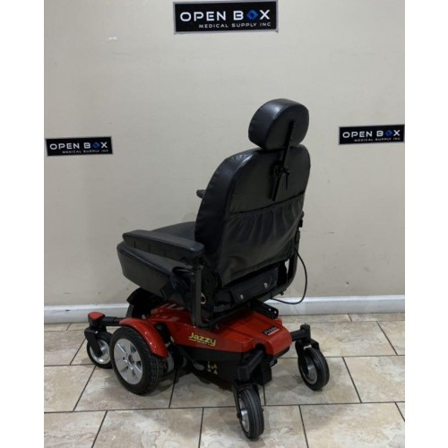 Back view of Pride Mobility Jazzy Select 6