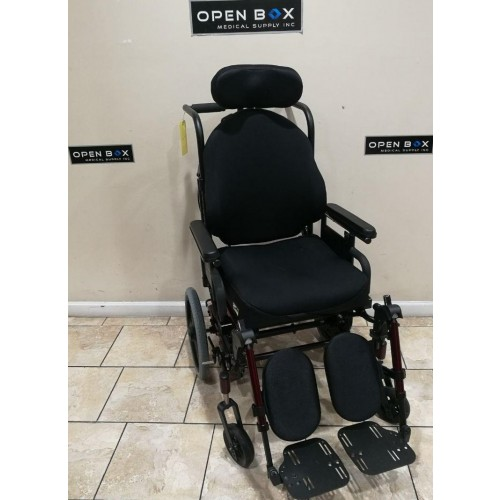 Quickie IRIS Tilt-in-Space & Recline Manual Wheelchair