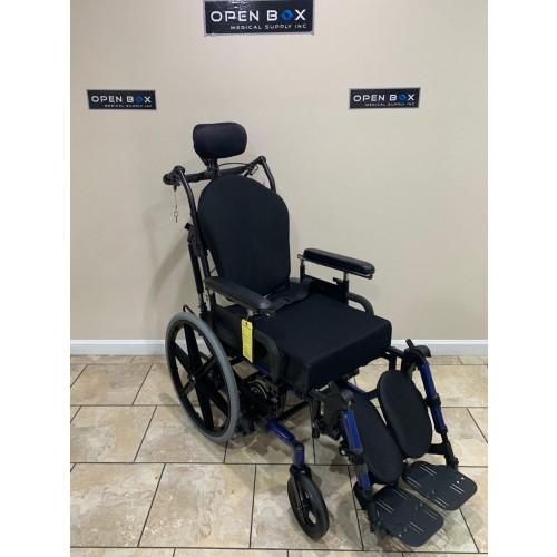 Quickie IRIS Tilt-in-Space & Recline Manual Wheelchair