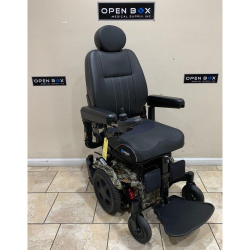 Quickie Pulse 6 Power Wheelchair w/Seat Elevator