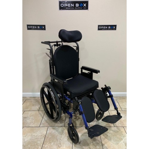 Quickie SR45 Tilt-in-Space and Recline Manual Wheelchair