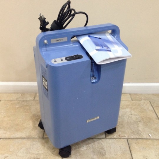 USED Philips Respironics EverFlo Q Oxygen Concentrator