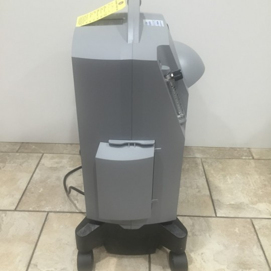 Side view of Used Respironics Millennium M10 Oxygen Concentrator