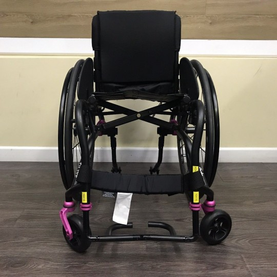 Front view of TiLite TX Folding Manual Wheelchair