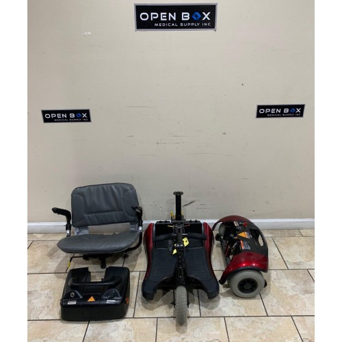 Disassembled Parts of Shoprider Dasher 3 Mobility Scooter