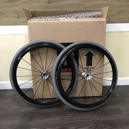 "Open Box TiLite 22"" Spinergy SPOX with Flat Free Tires"