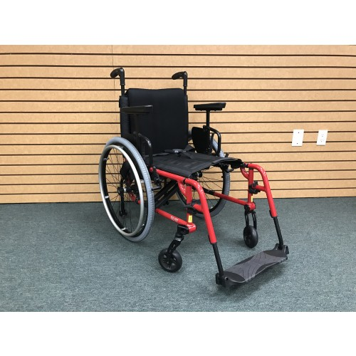 TiLite Aero X Folding Ultralight Wheelchair