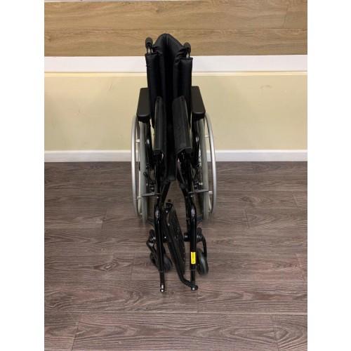 Folded TiLite Aero X Series 2 Aluminum Folding Manual Wheelchair