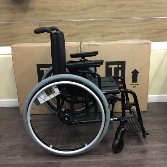 TiLite Aero X Series 2 Aluminum Folding Manual Wheelchair