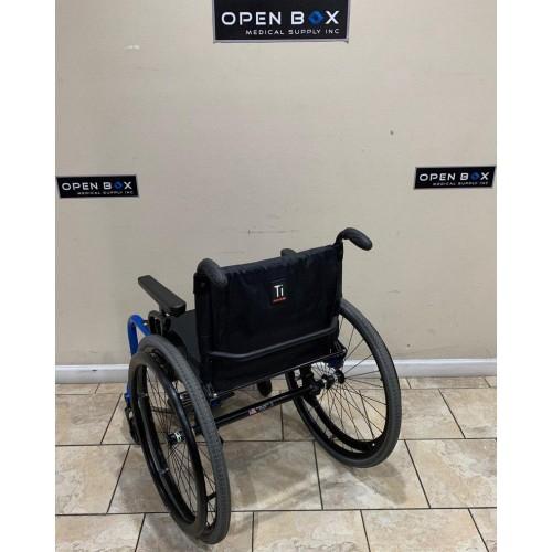 Back view of TiLite Aero Z Ultra Lightweight Wheelchair