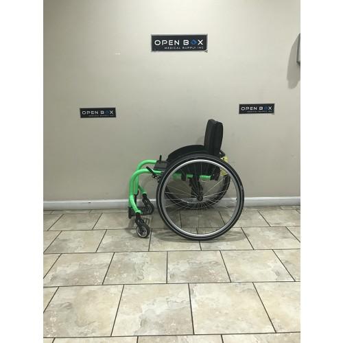Side view of TiLite Aero Z Series 2 Ultra Lightweight Wheelchair