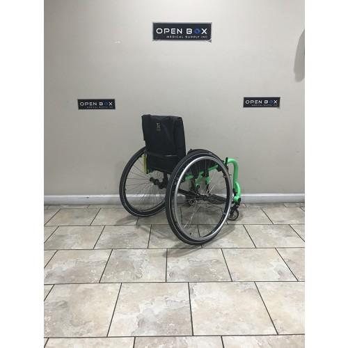 Back view of TiLite Aero Z Series 2 Ultra Lightweight Wheelchair