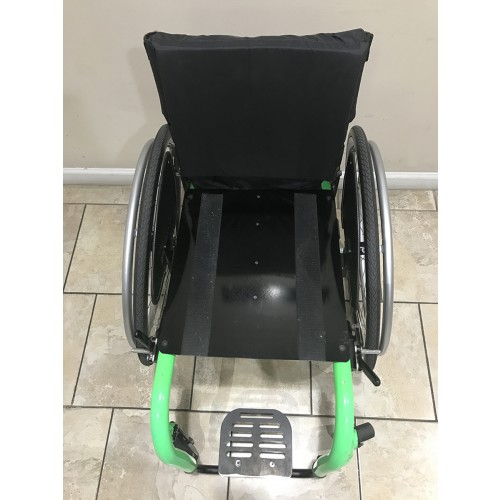 Top view of TiLite Aero Z Series 2 Ultra Lightweight Wheelchair