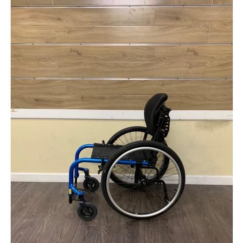 Side view of TiLite Aero Z Ultra Lightweight Wheelchair
