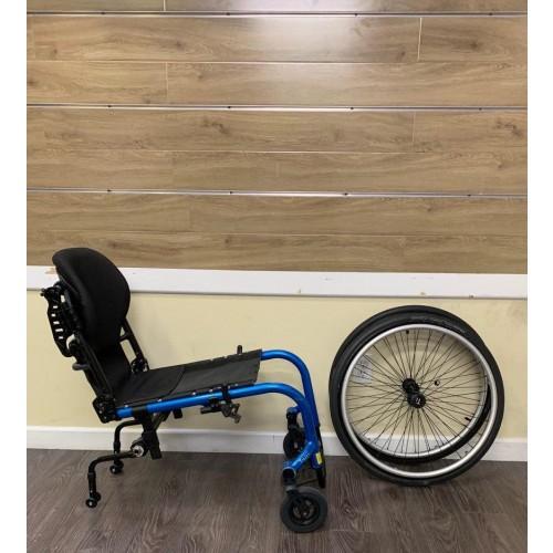 Disassembled Parts of TiLite Aero Z Ultra Lightweight Wheelchair