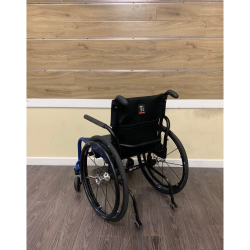 Back view of TiLite Aero Z Ultra Lightweight Wheelchair