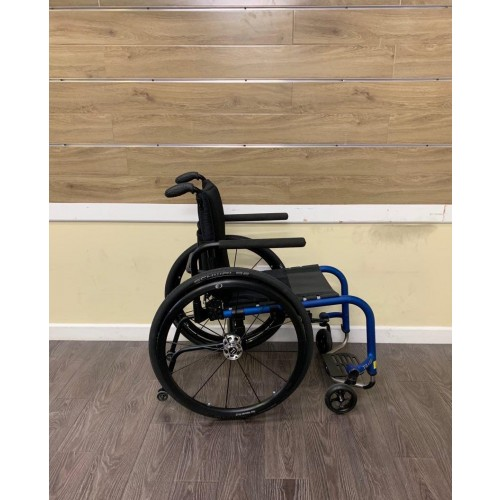 Side view of TiLite Aero Z Ultra Lightweight Wheelchair