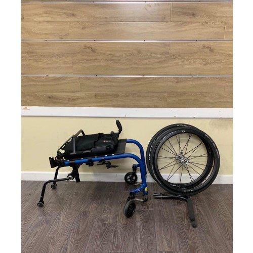 Disassembled Parts of TiLite Aero Z Ultra Lightweight Wheelchair