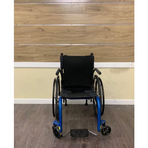 Front view of TiLite Aero Z Ultra Lightweight Wheelchair