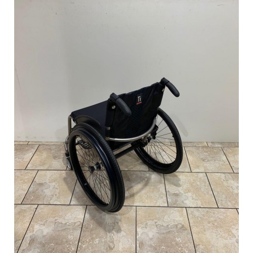 Back view of TiLite TR Rigid Ultralight Wheelchair