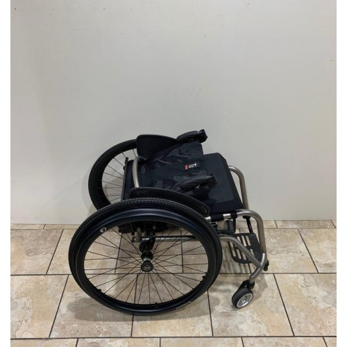 Folded TiLite TR Rigid Ultralight Wheelchair