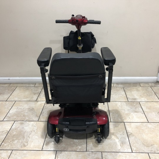 Back view of Used BladeZ Sport 3 Wheel Mobility Scooter