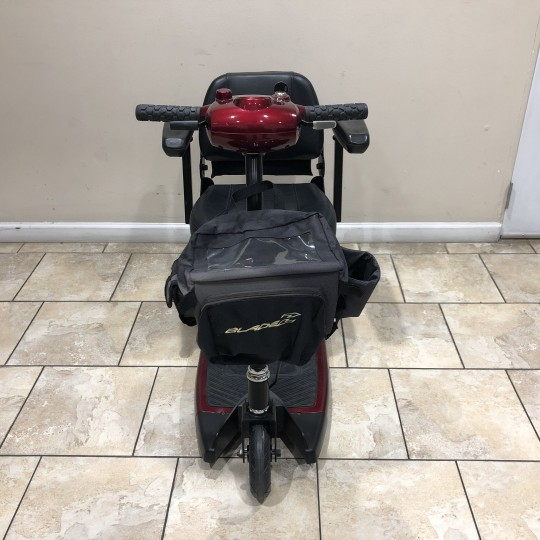 Front view of Used BladeZ Sport 3 Wheel Mobility Scooter