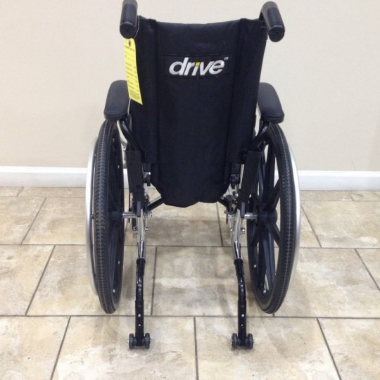 Back view of Used Drive Viper Plus Pediatric Wheelchair