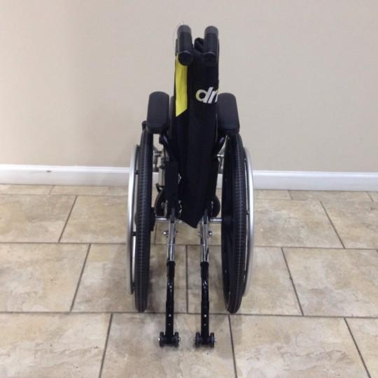 Folded Used Drive Viper Plus Pediatric Wheelchair