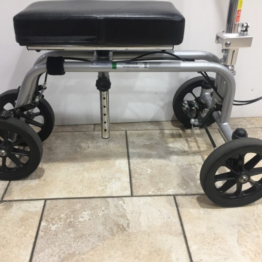 Wheels of Used Essential Free Spirit Knee Walker