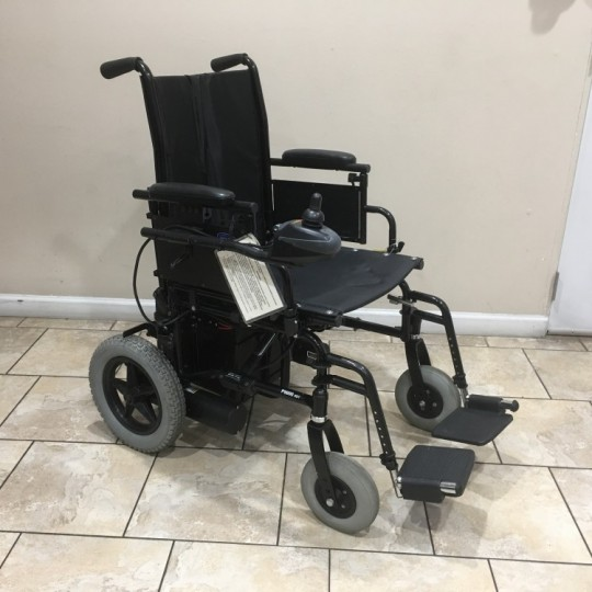Used Invacare P9000 XDT Folding Portable Power Wheelchair