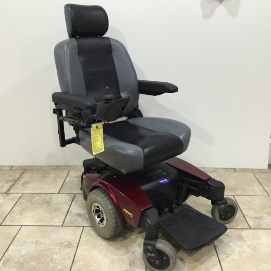 Used Invacare Pronto M61 Elevating Seat Power Chair