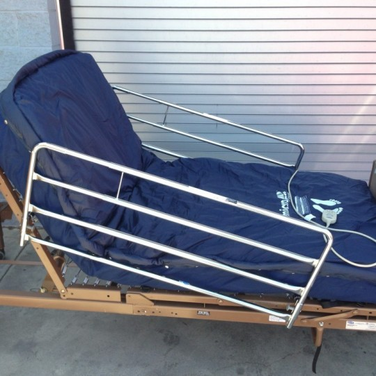Invacare 5410ivc Full Electric Hospital Bed Package Used
