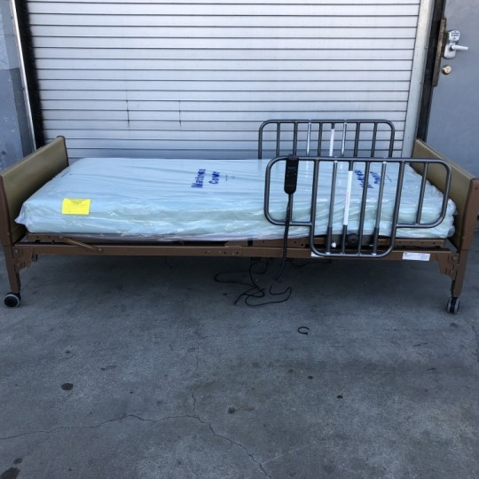 used-invacare-semi-electric-hospital-bed-4-1