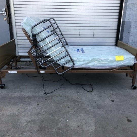 used-invacare-semi-electric-hospital-bed-5