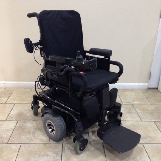 Used Invacare TDX SC Rehab Power Tilt and Elevating Legrest Chair