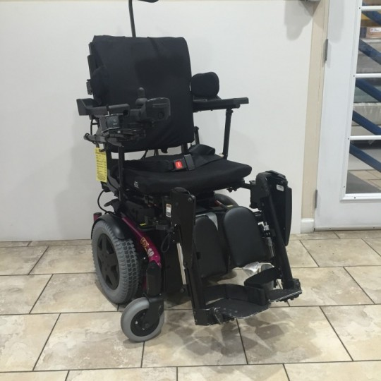 Used Invacare TDX SP Power Wheelchair w/ Power Tilt & Recline