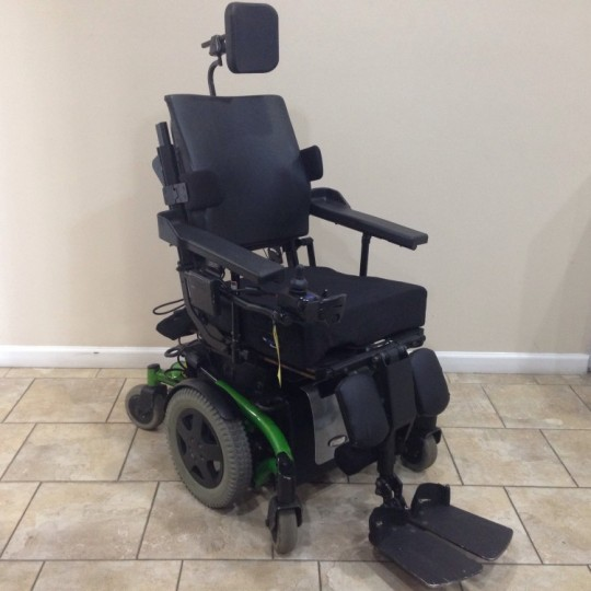 Used Invacare TDX SP Rehab Tilt Power Wheelchair