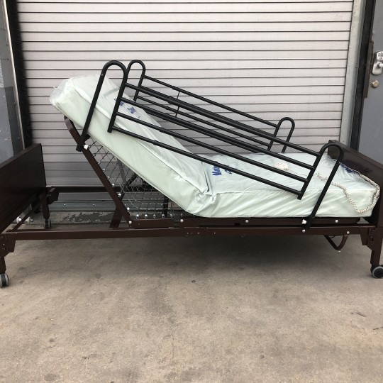 Used Medline Basic Semi-Electric Hospital Bed Package