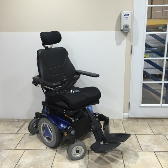 Used Permobil M300 Corpus 3G Rehab Power Chair