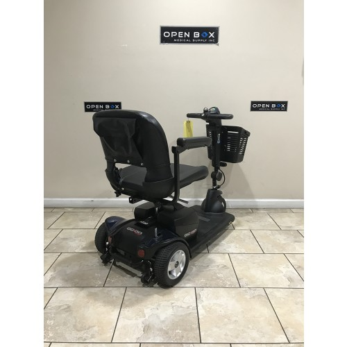 Back view of Used Pride Go-Go Sport 3-Wheel Mobility Scooter